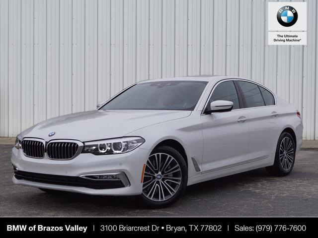 5 Series Bmw >> New 2018 Bmw 5 Series 530i 4d Sedan In Bryan A37770 Brazos Valley
